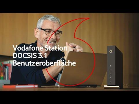 Kabel-Router Vodafone Station DOCSIS 3.1 - Benutzeroberfläche von Arris