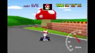 """Mario Raceway 3lap 1'28""""20 (PAL)"""
