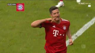 Robert Lewandowski hat-trick vs Frankfurt - Bayern coast to 2018 German Supercup win! - Video Youtube