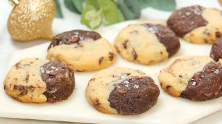 INCREDIBLE Brownie Chocolate Chip Christmas Cookies | Edible Gift Idea for Holidays
