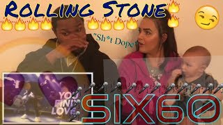 SIX60   Rolling Stone (Lyric Video) REACTION
