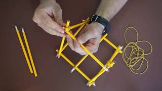 Ancient Weapon - Catapult - Made From Pencils