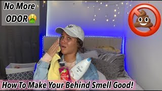 How To Thoroughly Clean Your Buttocks🌺 ((MUST WATCH))