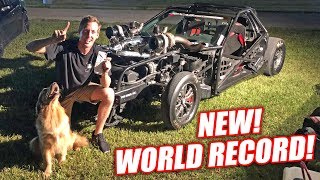 Leroy RETAKES The Stick Shift Corvette WORLD RECORD!!! *EXTREME FREEDOM WARNING* | Kholo.pk