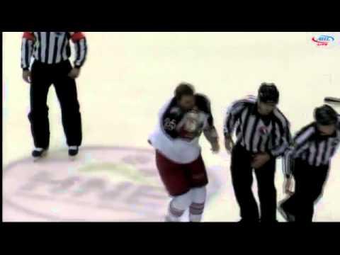 Paul Bissonnette vs Mathieu Gagnon