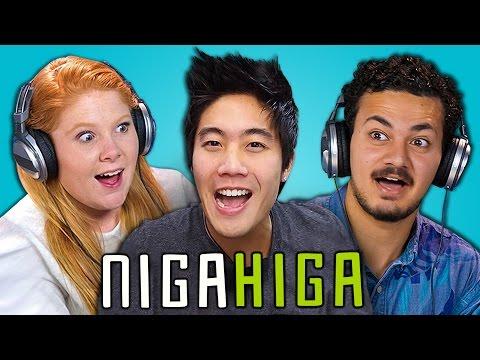 TEENS REACT TO NIGAHIGA (RYAN HIGA)