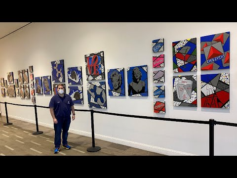 Exhibition Video of my Pop-Art. Personalized instruction is in drawing/painting from observation, realistic landscapes, still lifes.