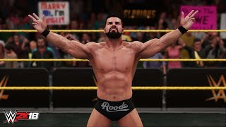 wwe-2k18-bobby-roode-ember-moon-and-the-miz-maryse-full-ring-entrance-videos