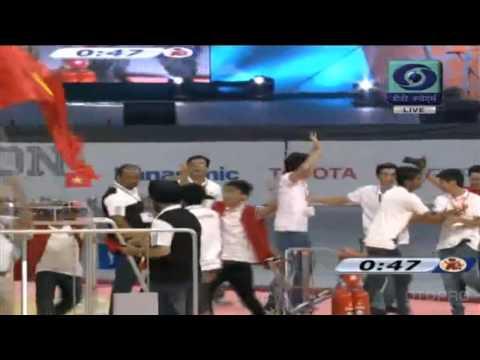 Cùng xem video VIỆT NAM vô địch ROBOCON năm 2014 nào anh em