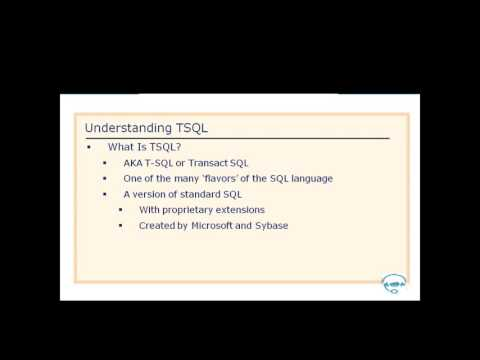 (70-462) - 1. SQL Server 2012 Introduction. - YouTube