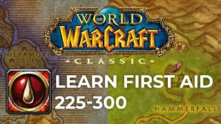 Classic WoW First Aid Guide 225-300 | HORDE & ALLIANCE