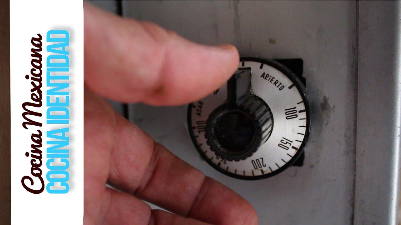 ¿Cómo regular la temperatura del horno?, Consejos de Cocina Mexicana, Yuri de Gortari