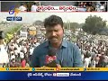 Download Farmers Block Highway | at Chinakakani | Heavy traffic jam Mp4 HD Video and MP3