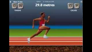 QWOP -Finish In 1 Minute 53 Seconds-