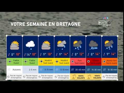 Illustration de l'actualité Votre semaine en Bretagne : forte agitation en seconde partie