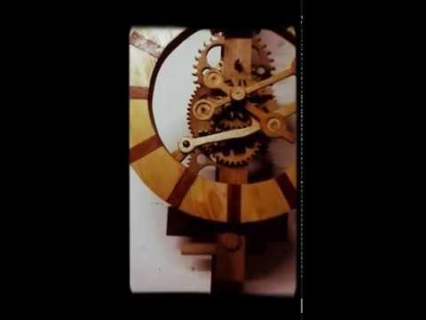 Orologio in legno N2 modifica sospensione