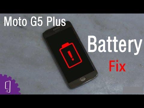 Moto G5 Plus Battery Repair Guide