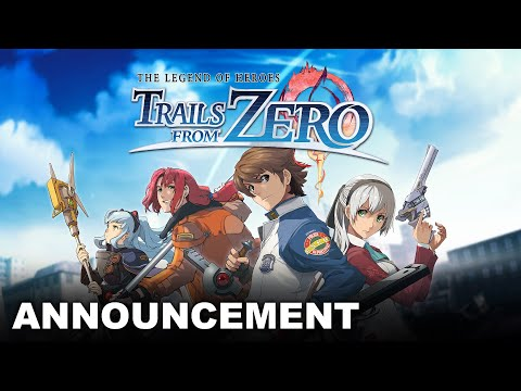 The Legend of Heroes: Trails from Zero - Teaser Trailer de The Legend of Heroes: Trails from Zero