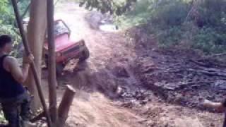 preview picture of video 'La volca en el mandril toa alta'