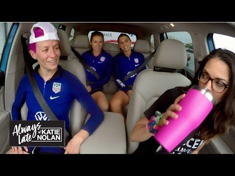 Alex Morgan, Megan Rapinoe and Kelley O'Hara have a new soccer mom   Always Late with Katie Nolan
