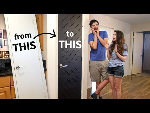 $66 Custom Door Anyone Can Do!!