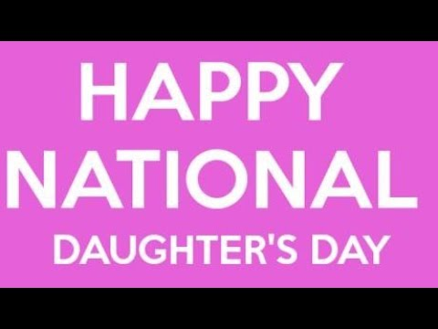 National Daughters' Day Special