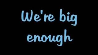 Bigger   Justin Bieber + Lyrics ( My World 1.0 Studio Version )