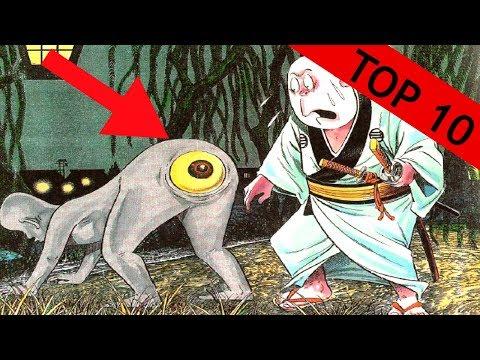 TOP 10 - Bytostí z Japonských legend