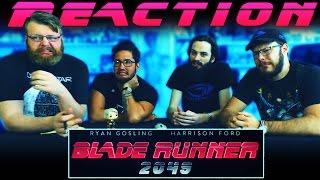 Blade Runner 2049 - Official Trailer REACTION!!