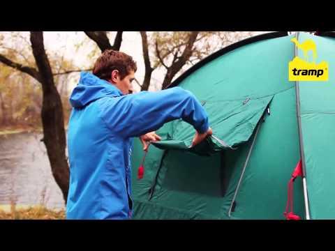 Смотреть видео Палатка Tramp Bell 3 v2