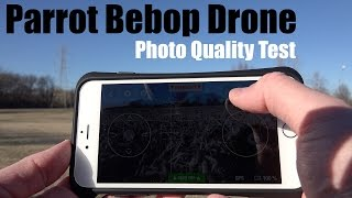 Parrot Bebop Drone Photo Quality Test