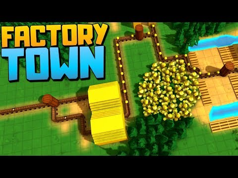 MAKING AN EFFICIENT PRODUCTION LINE - Factory Town Alpha - Factory Town Gameplay