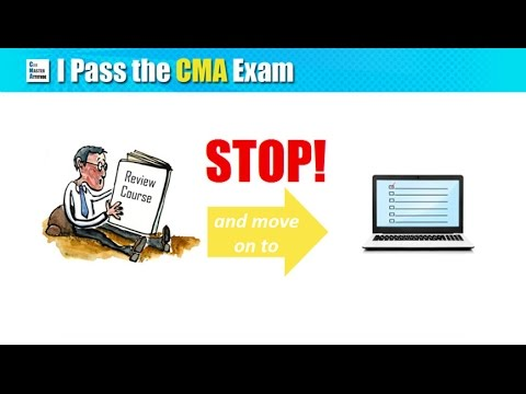 CMA Exam Day Prep: Your 1 Month / 1 Week / 1 Day To-do List ...