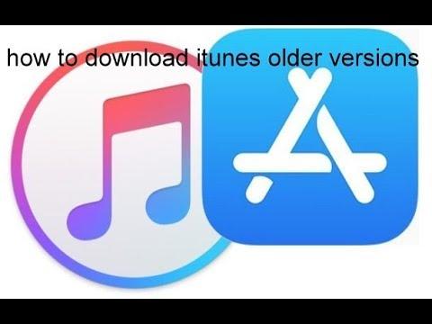how to download itunes older versions
