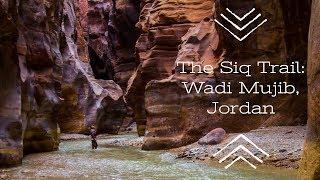 The Siq Trail: Wadi Mujib, Jordan 2018