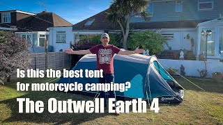 Is this the best tent for Motorcycle Camping? The Outwell Earth 4