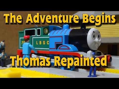 Tomy The Adventure Begins Thomas Repainted