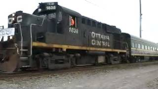 preview picture of video 'Ottawa Central Commuter Excursion to Pontiac and Renfrew'