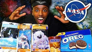 ASTRONAUT FOOD vs REAL FOOD CHALLENGE!! Space Food Taste Test!