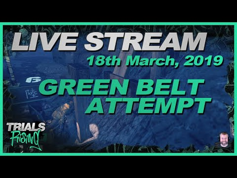 Trials Rising Live Stream - 18 March, 2019 (Includes Green Belt Ninja)