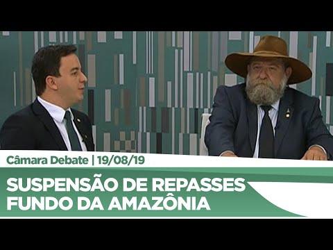 Suspensão de repasses para o Fundo da Amazônia