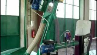 peletovací linka MGL 200 MGL 400 Wood  Pelletspress LM772 pellet mill wood granuláló gépsor