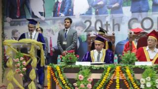 GHS IMR 20th Convocation PGDM Batch 2014-2016 Director's Speech