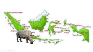 Membuat Media Pembelajaran Interaktif (MPI) Peta Flora dan Fauna dengan Powerpoint