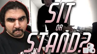 Do You Sit Or Do You Stand To Wipe?   A Debate With Esfand