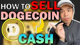 How to SELL or CONVERT Dogecoin for CASH 💥EASY TUTORIAL💥