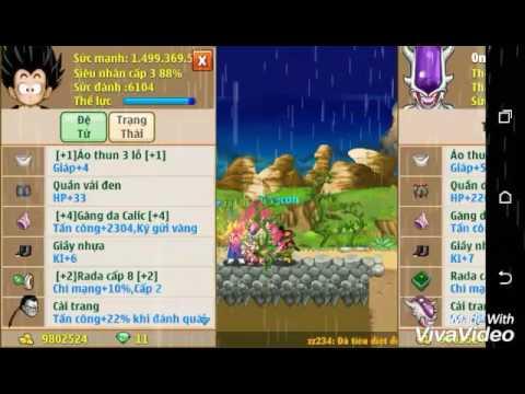 Ngọc rồng online: 0ngcha mở skill 3 đệ tử =))