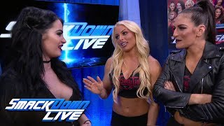 Paige welcomes Mandy Rose & Sonya Deville to Team Blue: SmackDown LIVE, May 1, 2018 - Video Youtube