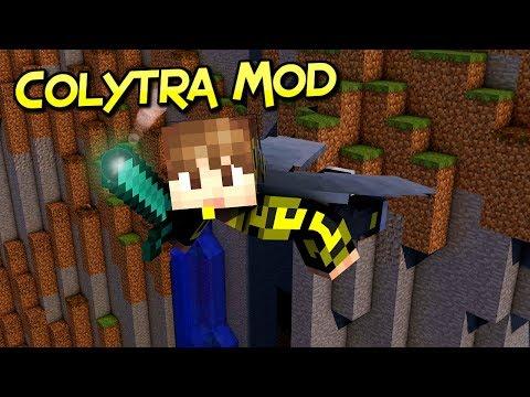 Colytra Mod | Equipa Tu Armadura Favorita Junto Con La Elytra | Minecraft 1.12.2  | Review Español