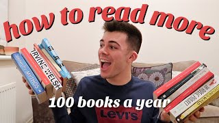 HOW TO READ MORE!! how i read 100 books a year 📚